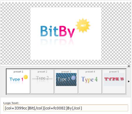 Web 2.0 - Logo Creater