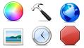 4 набора иконок для веб-дизайнеров от bitby.net
