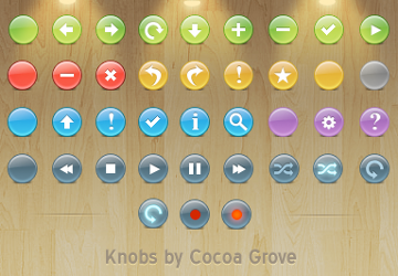 knob_buttons_toolbar_icons_by_itweek