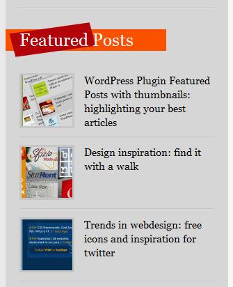 featured post wordpress