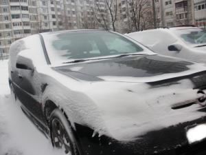 Мою машину замело