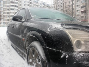 Почистил от снега