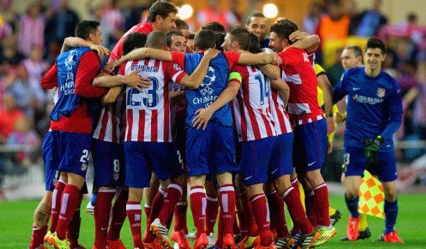 Атлетико Мадрид - Барселона (первый матч 1-1, второй матч 1-0)
