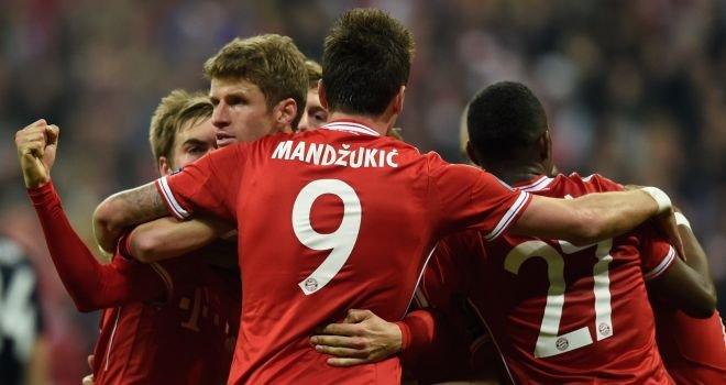 Бавария - Манчестер Юнайтед (первый матч 1-1, второй матч 3-1)