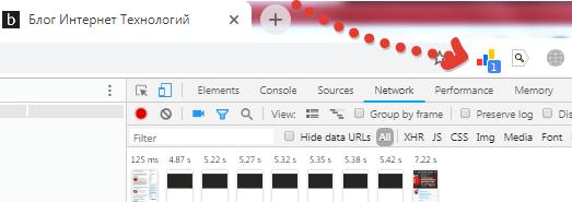 Проверка наличия счетчика статистки на мобильной версии сайта