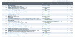 Таблица обратных ссылок на Ваш сайт