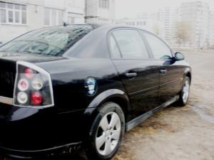 Моя машина - Opel Vectra C