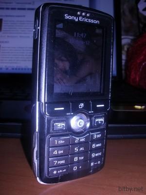 Мой телефон - Sony Ericsson K750i